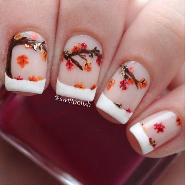20 Trendy Fall Nail Designs To Copy Right Now 3 Strnka