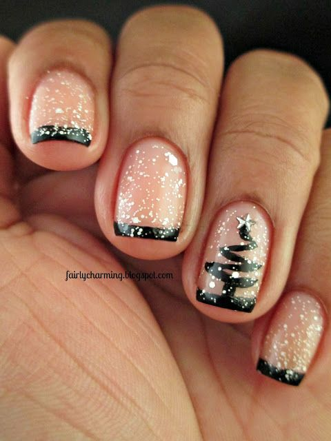 #Winter and Christmas #Nails Designs