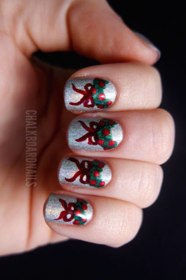 #Winter and #Christmas #Nails Designs