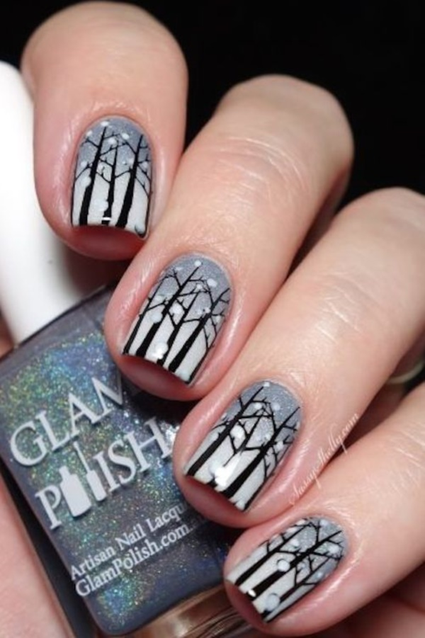40 Winter and Christmas Nails Designs