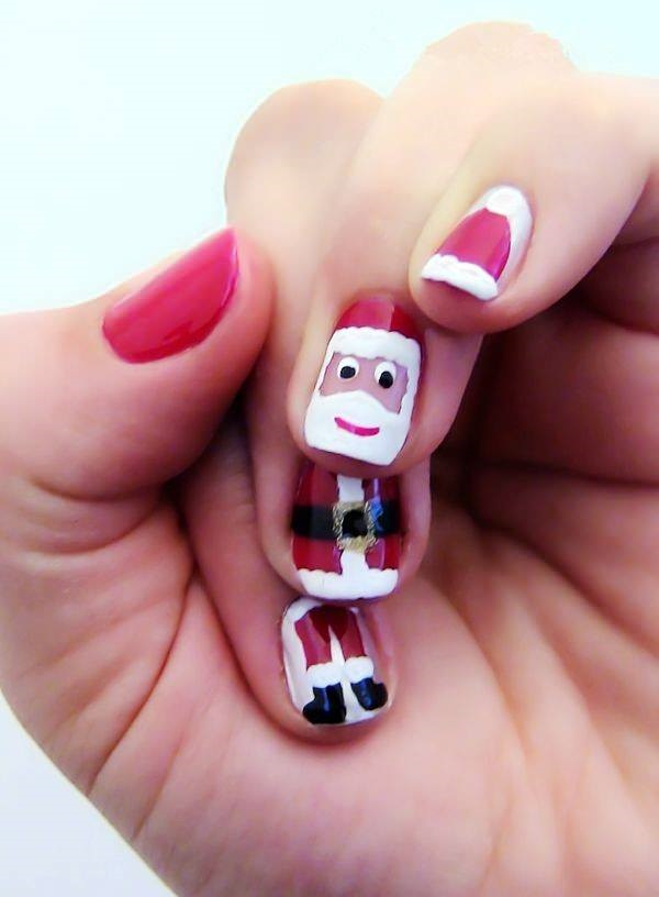 Easy-Winter-and-Christmas-Nails-Designs3-1 | Stylish list