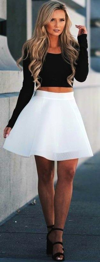 Trending And Flirty Summer Outfit
