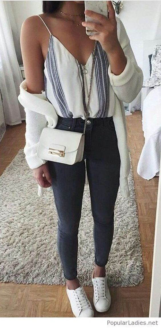 Find inspiration in these outfit ideas, that will make you attractive. #spring #outfits